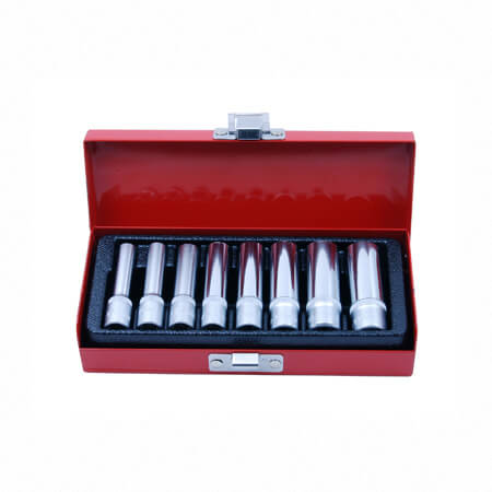 "9PC 1/4""DR. DEEP SOCKET SET"