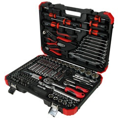 "127PC 1/4"" & 1/2""DR. TOOL KIT (MM)"