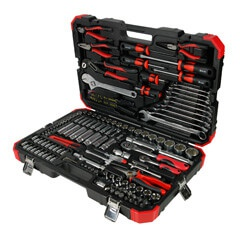 "133PC 1/4"" & 1/2""DR. TOOL KIT (MM)"