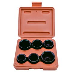 "6PC 3/8"" DR. OIL FILTER SOCKET SET"